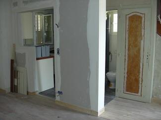 la porte dentre mur porteur tomb nouveau carrelage dans la cuisine nouvelles fentres parquet la place du carrelage dans le couloir